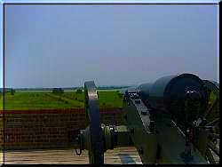 Cannon at Fort Pulaski